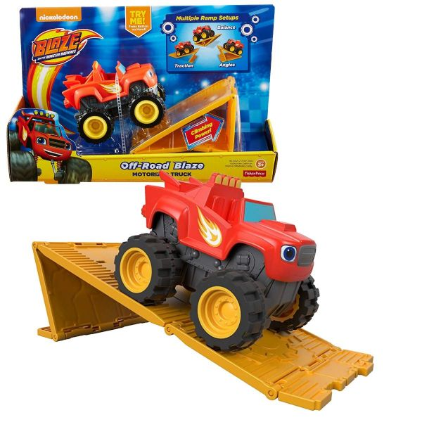 Nickelodeon Blaze And The Monster Machines Off Road Blaze Toy Motorized Truck